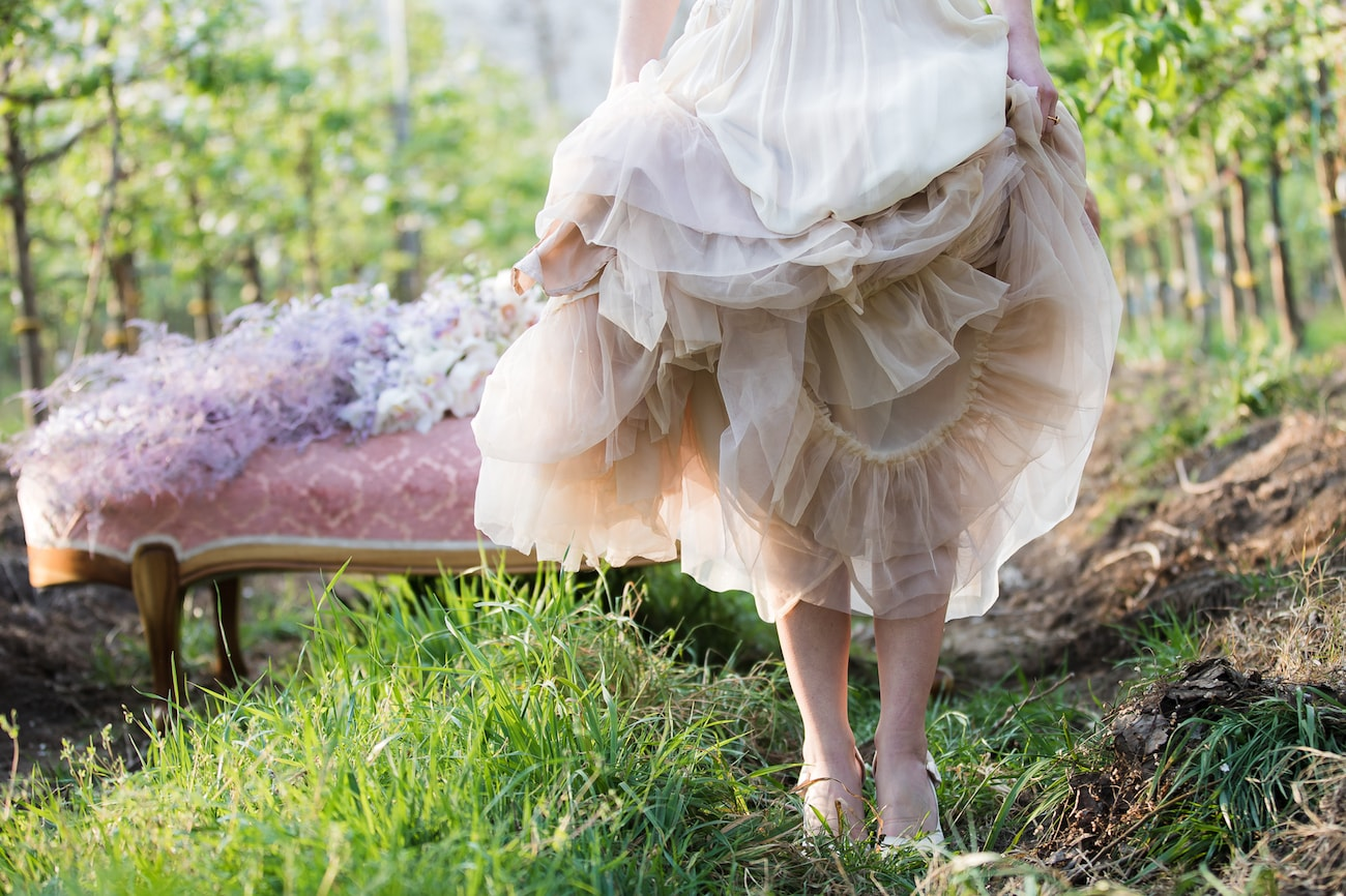 Blush Pink Wedding Dress | Image: Sulet Fourie