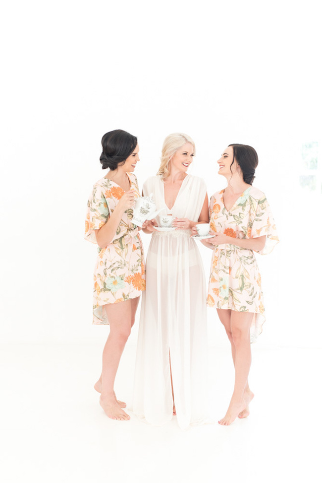 Bridesmaids Gin Party | Image: Cara Faye Weddings