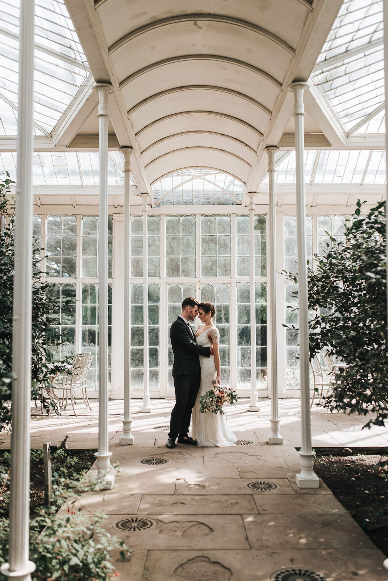 Glasshouse Wedding Inspiration | Image: Pear & Bear Photography