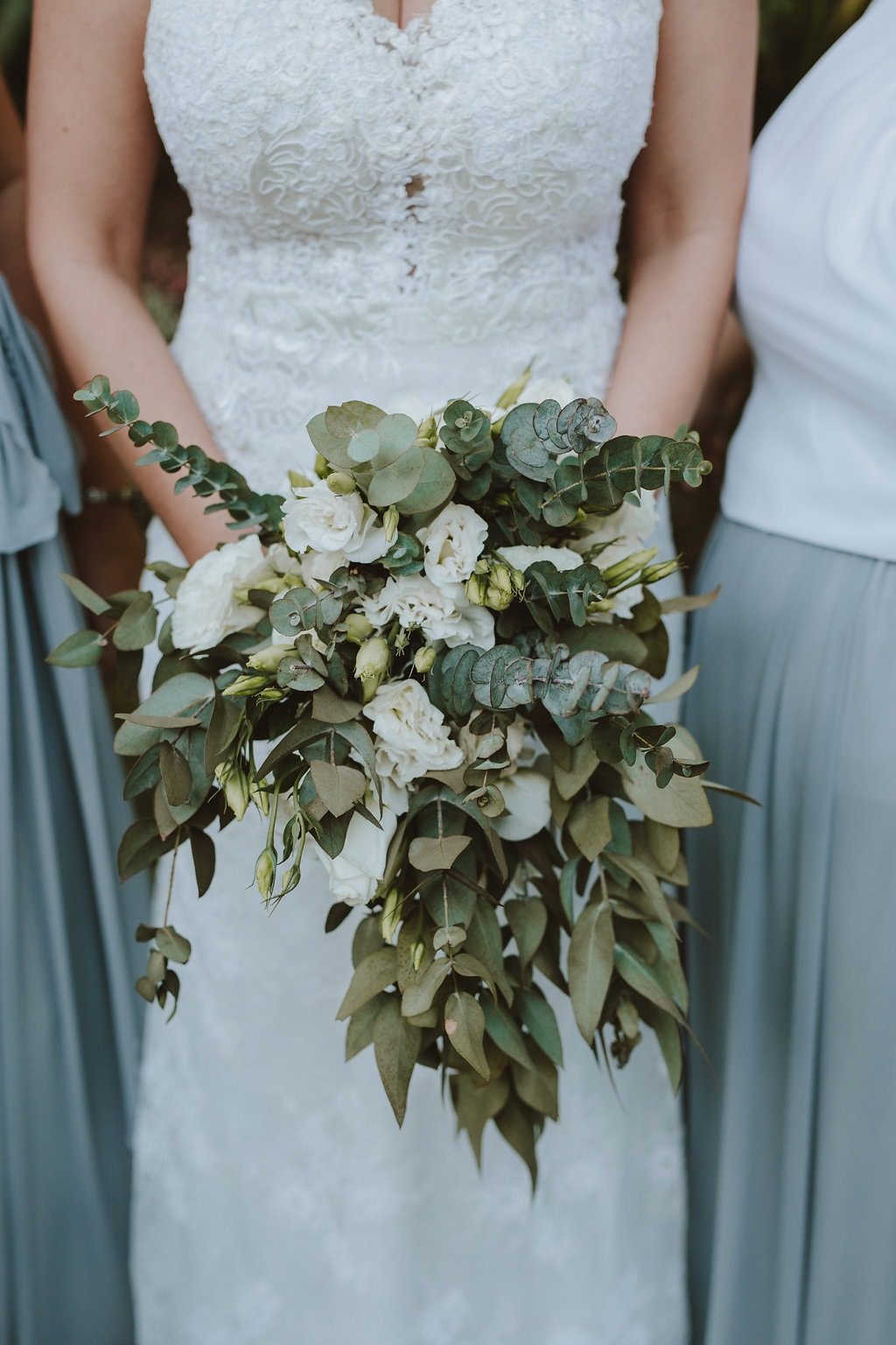 Rose & Greenery Bouquet | Image: Jessica J Photography