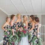 Dark Botanical Floral Wedding at Florence Farm by Grace Studios