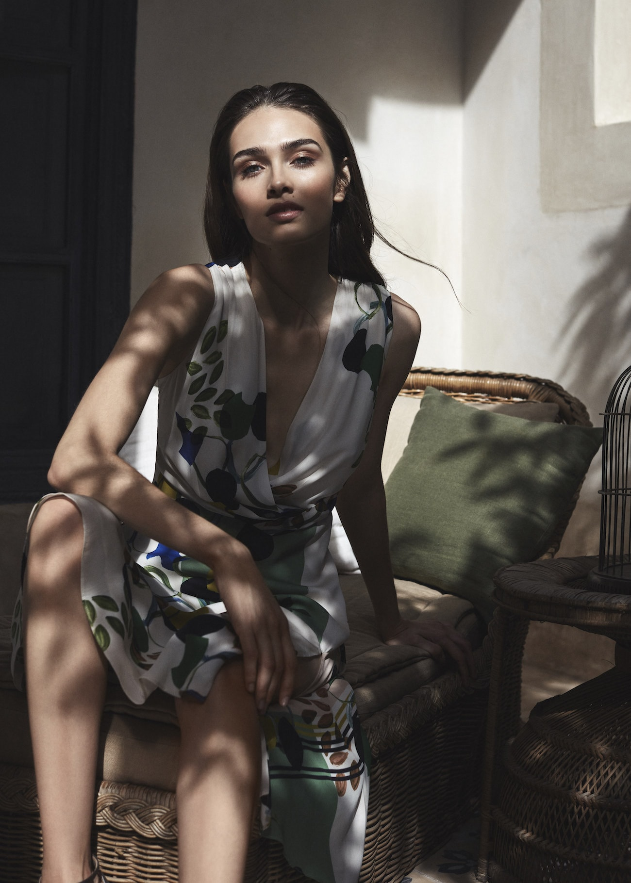 Reiss Magnolia Floral Printed Dress for Mother of the Bride