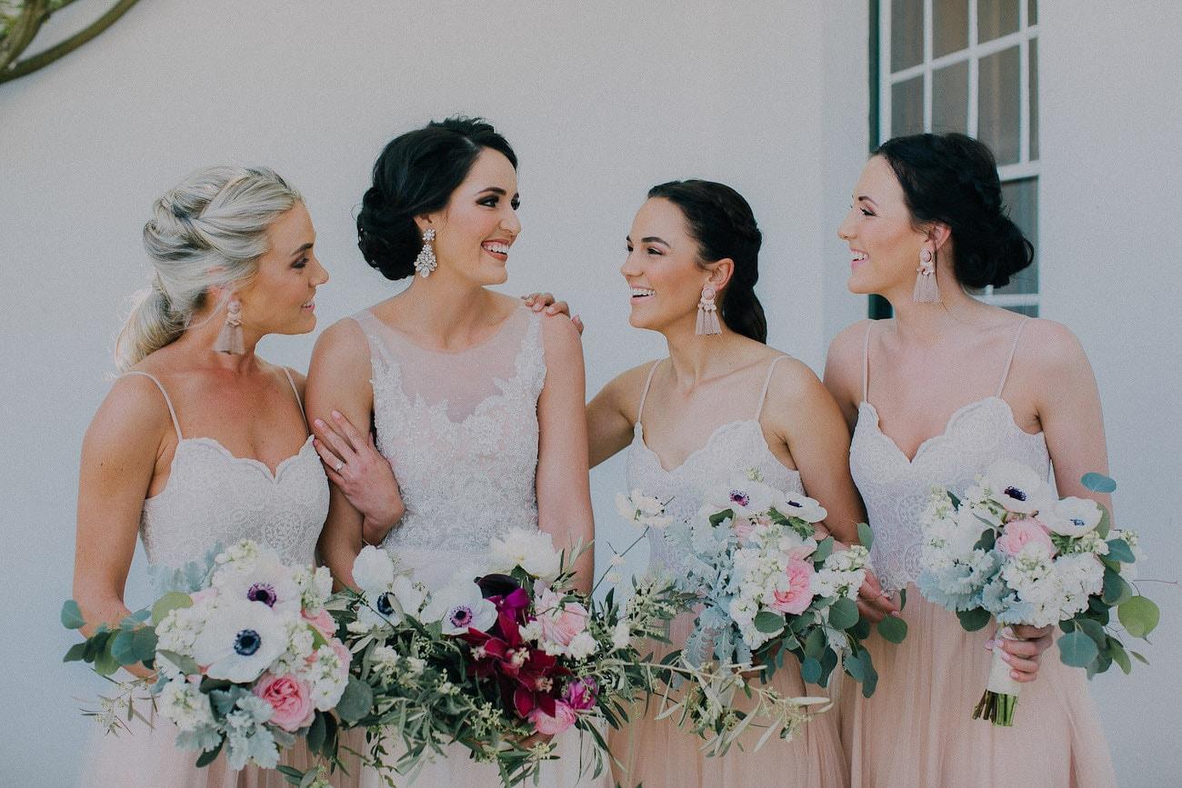 Blush Bridesmaid Separates | Image: Michelle du Toit