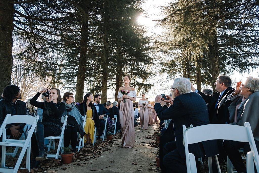 Bellwood Cottages Wedding Ceremony | Image: The Shank Tank
