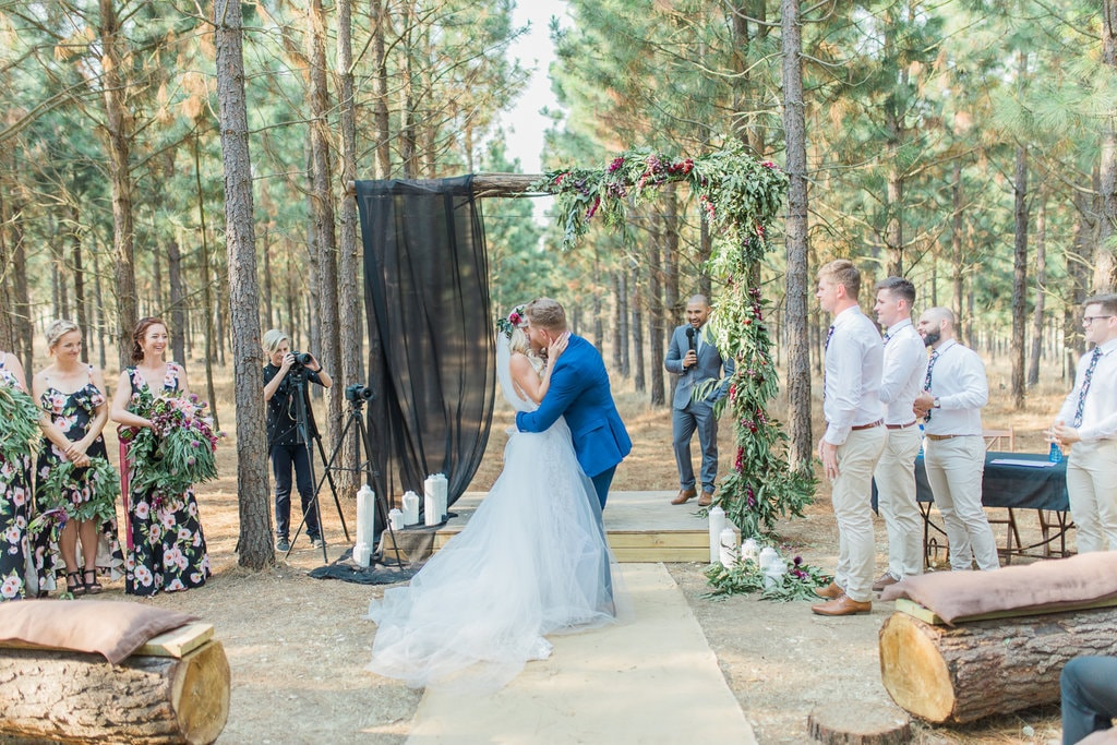 Florence Farm Forest Ceremony | Image: Grace Studios