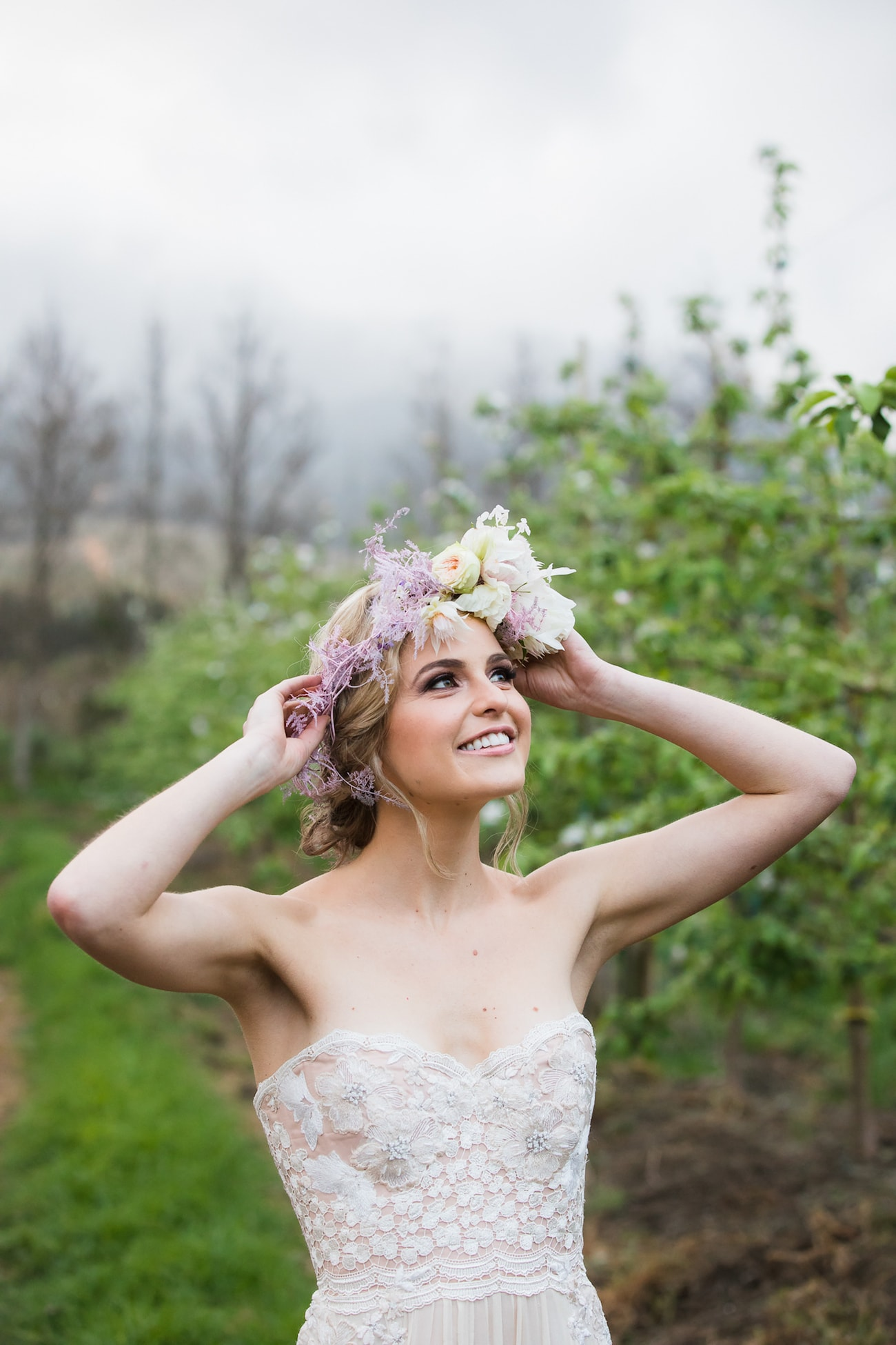Spring Bride in Alana van Heerden Wedding Dress | Image: Sulet Fourie