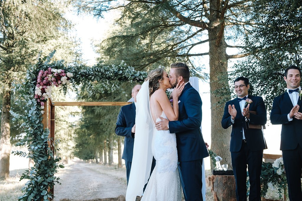 Floral Ceremony Arch | Image: The Shank Tank