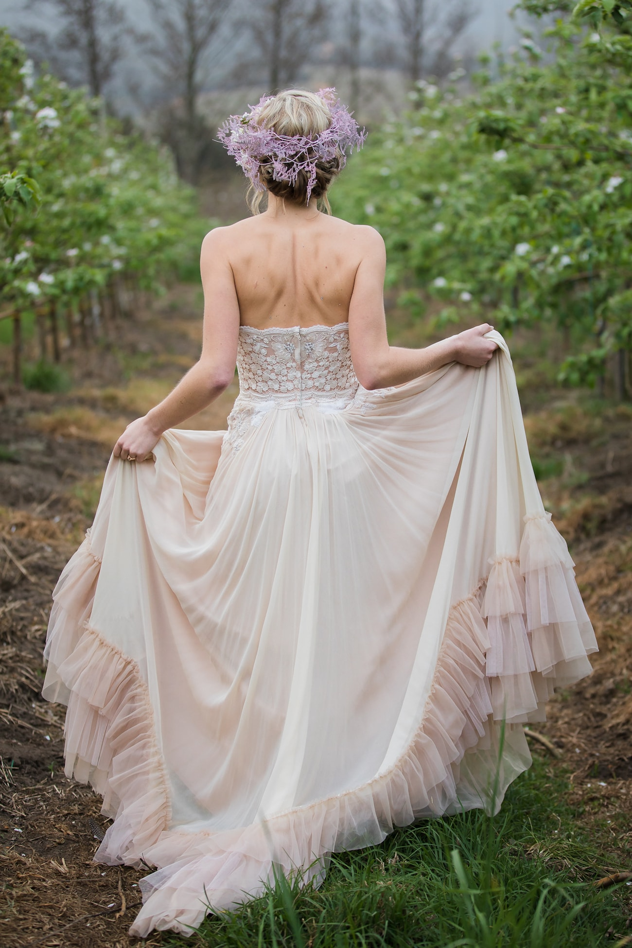 Blush Alana van Heerden Wedding Dress | Image: Sulet Fourie