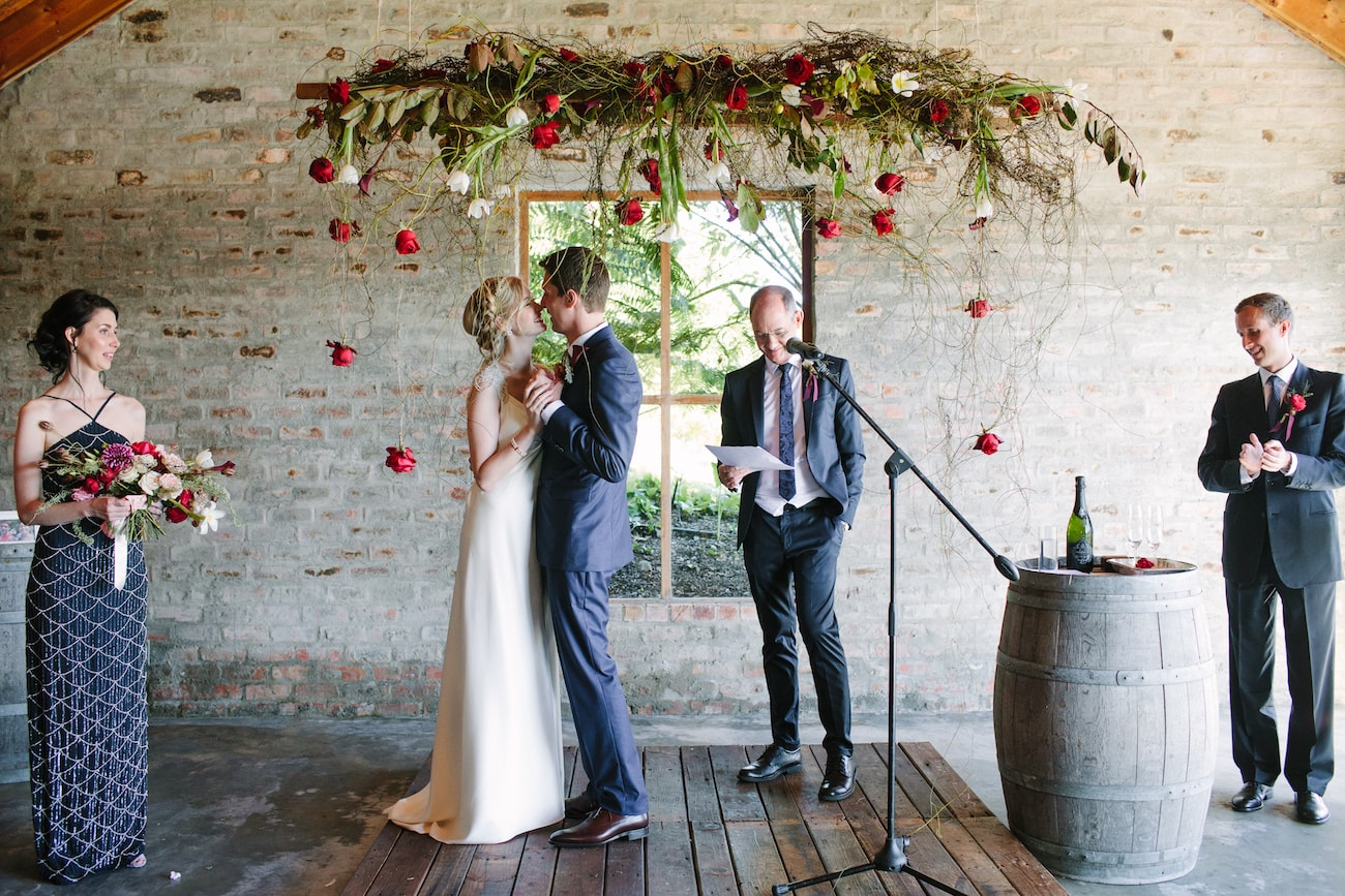 Rockhaven Wedding Ceremony | Image: Tasha Seccombe