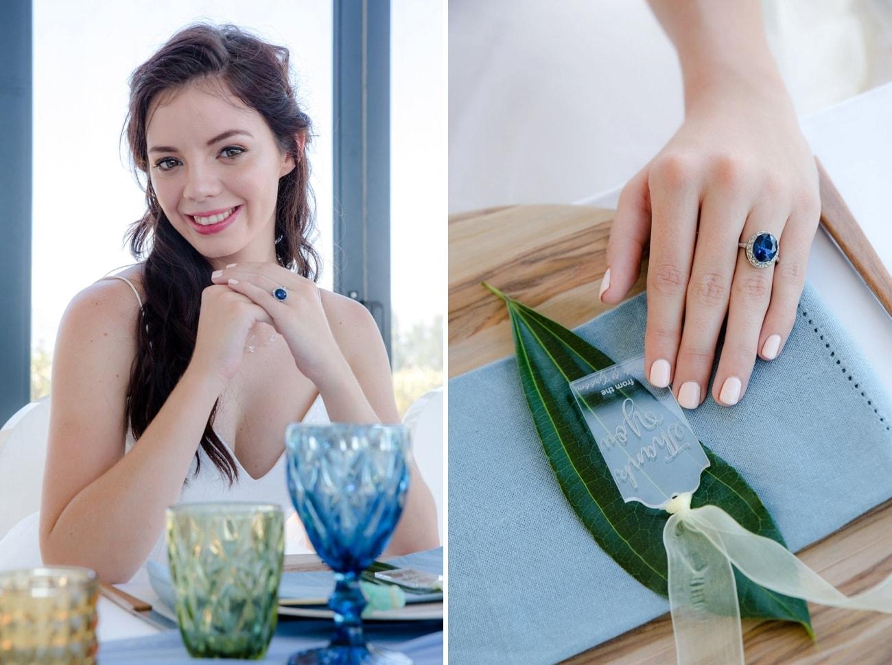 Sheer Ever After Wedding Inspiration | Image: Jaqui Franco