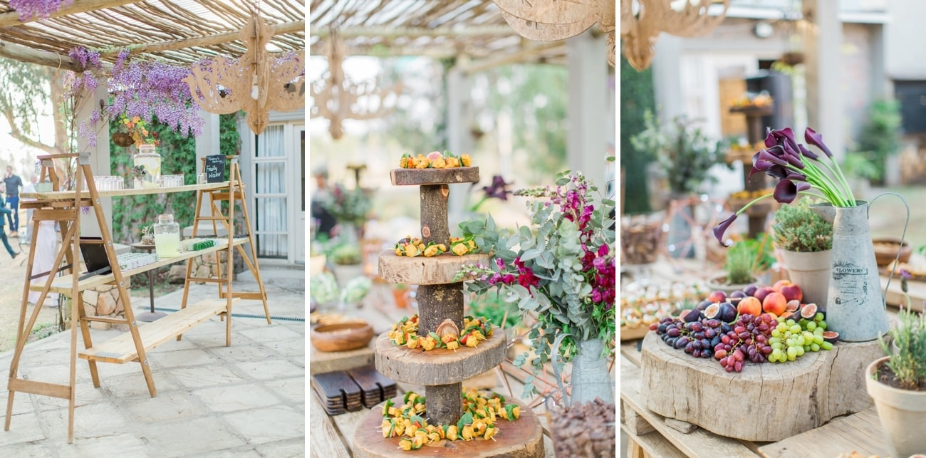 Wedding Food | Image: Grace Studios