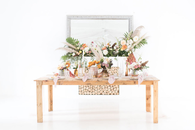 Ethereal Autumn Tablescape | Image: Cara Faye Weddings