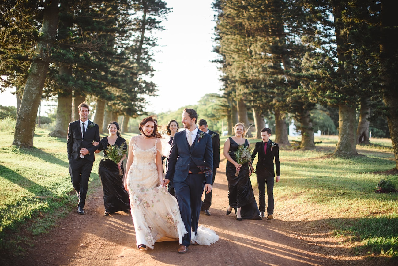KZN Wedding Bridal Party | Image: Roxanne Davison