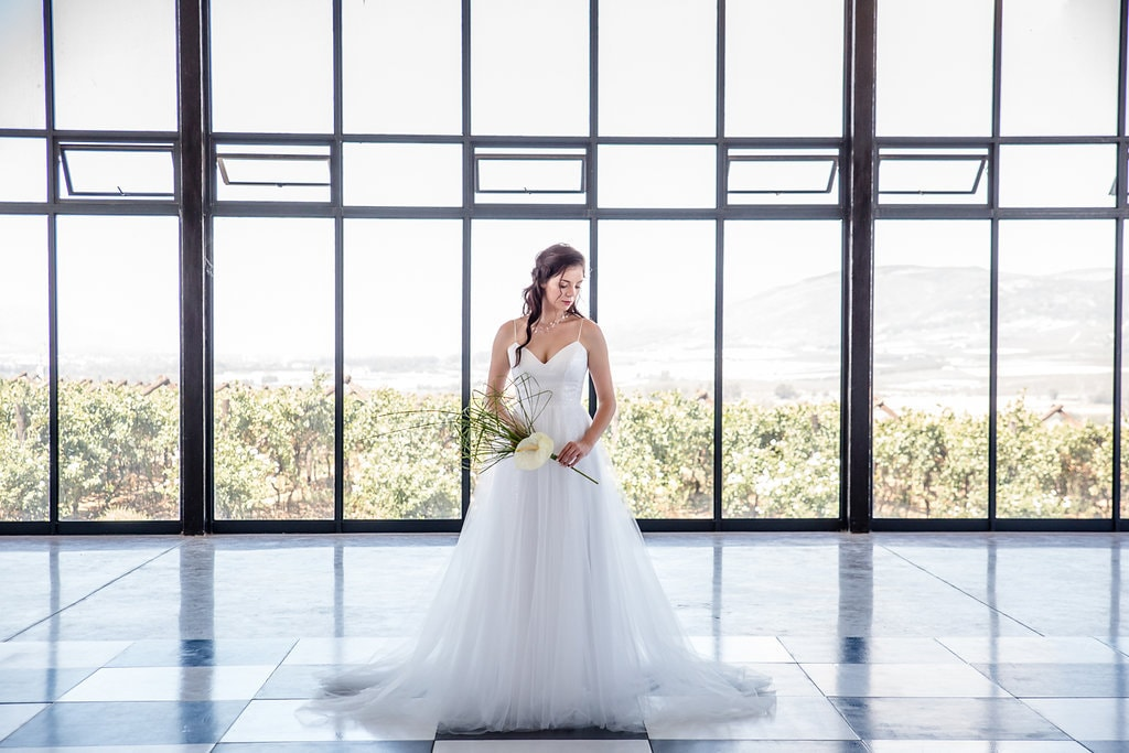 Clear Glass Wedding Venue   Image: Jaqui Franco