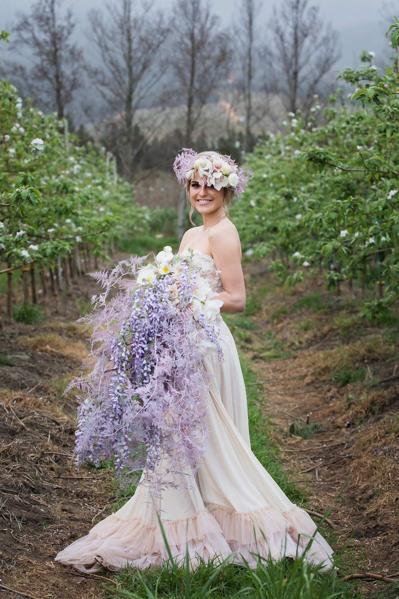 Spring Blossom Bridal Shoot | Image: Sulet Fourie