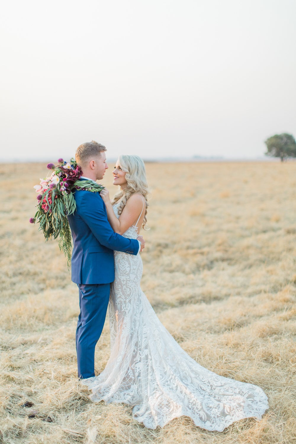 Bride & Groom | Image: Grace Studios