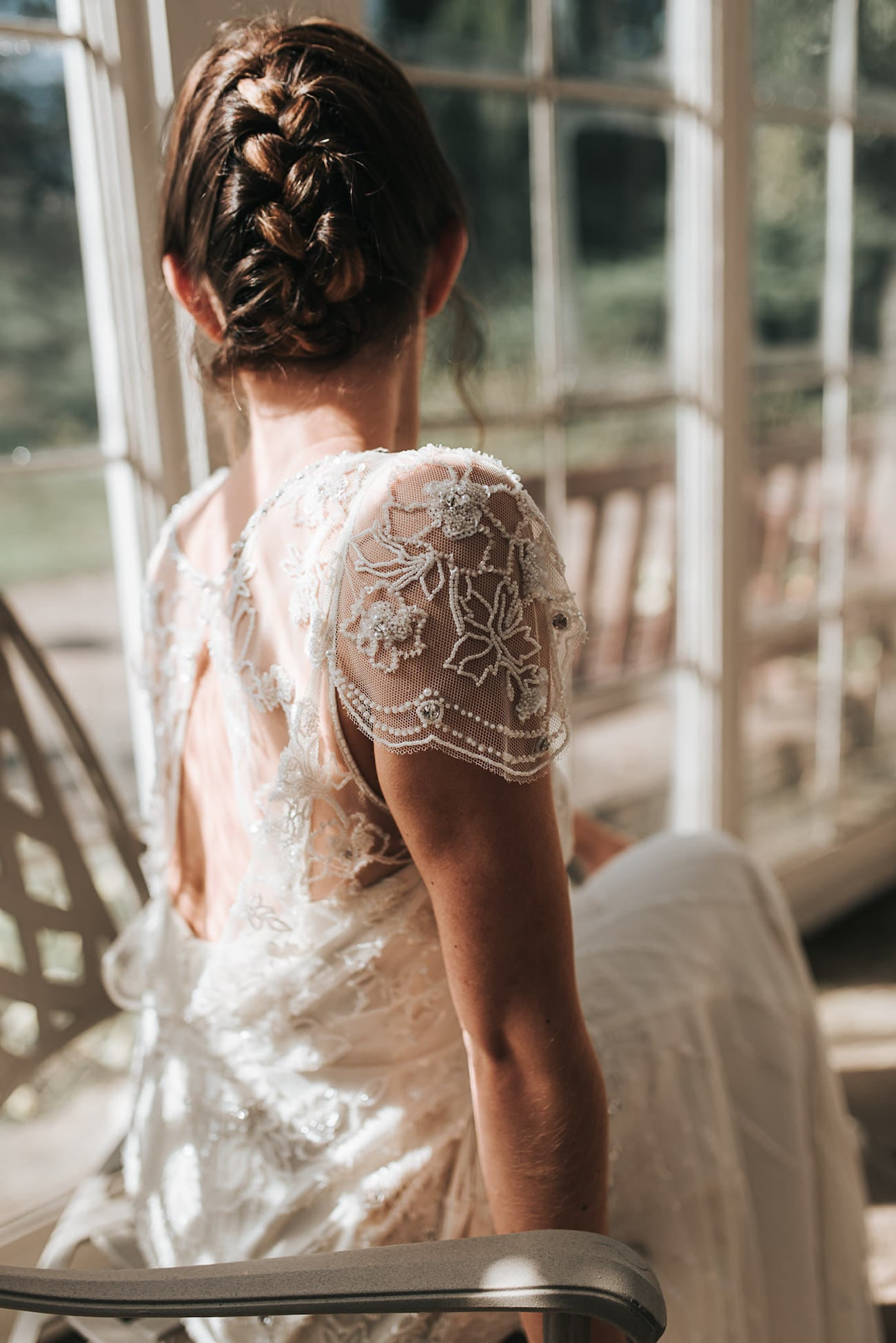 Jenny Packham Wedding Dress | Image: Pear & Bear Photography