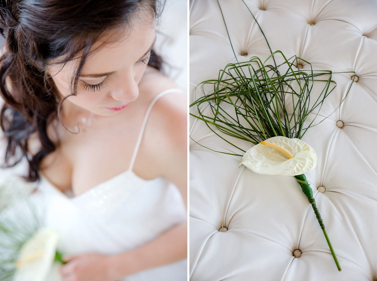 Minimalist Bouquet   Image: Jaqui Franco