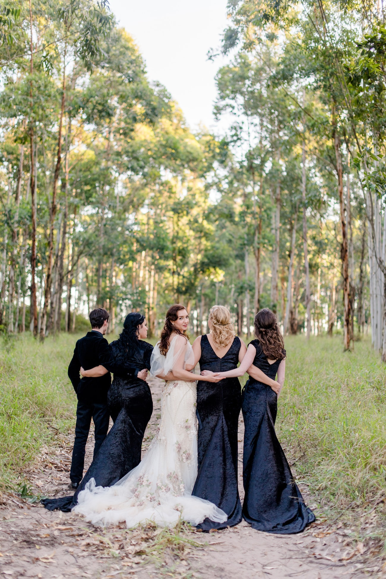 Velvet Bridesmaid Dress Inspiration | SouthBound Bride