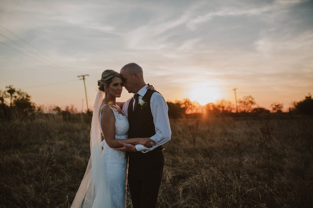 Bride & Groom Sentimental Rustic Wedding | Image: Jessica J Photography