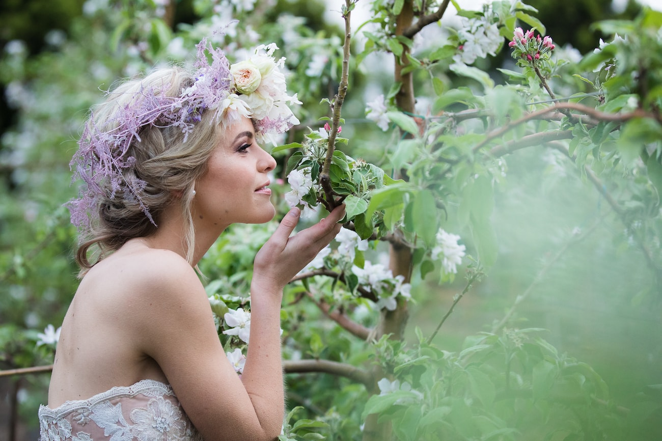 Spring Orchard Bridal Shoot | Image: Sulet Fourie