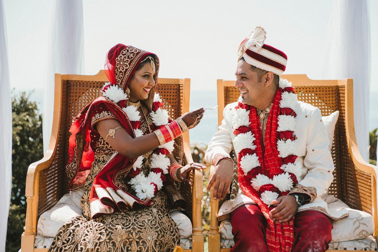 Hindu Wedding Kansar Bhakshan | Image: Claire Thomson