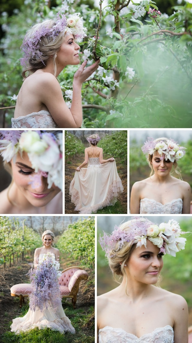 Spring Blossom Bridal Shoot by Sulet Fourie | SouthBound Bride