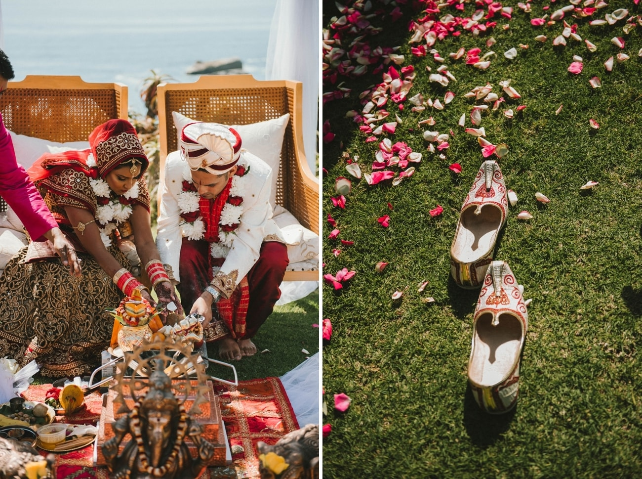 Traditional Hindu Wedding Traditions | Image: Claire Thomson