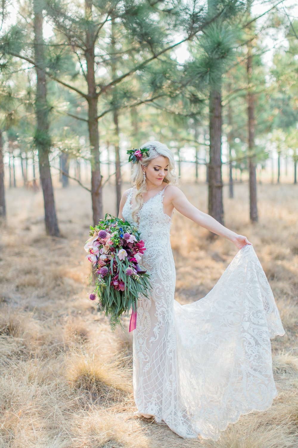 Casey Jeanne - Jeannelle l'Amour Wedding Dress | Image: Grace Studios