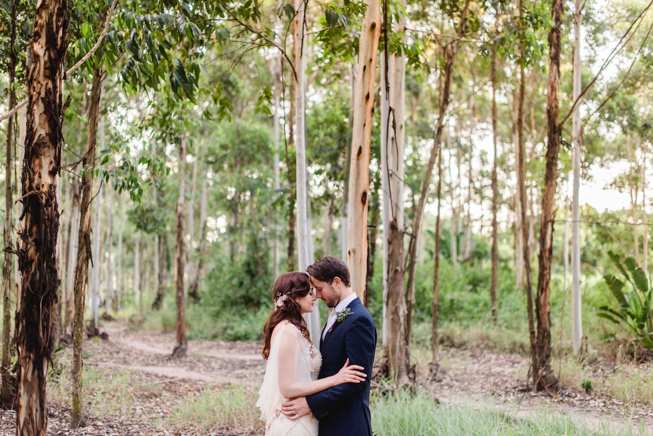 Forest Wedding | Image: Roxanne Davison