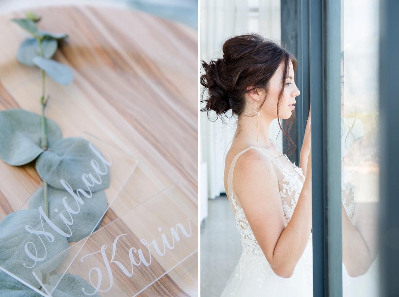 Sheer Ever After Wedding Inspiration   Image: Jaqui Franco