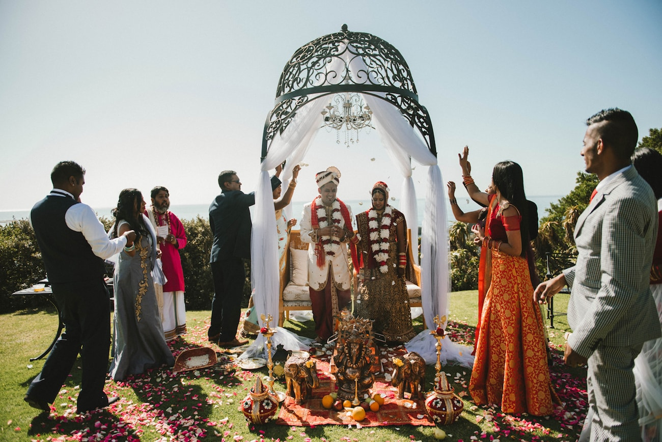 Traditional Hindu Wedding Celebration | Image: Claire Thomson