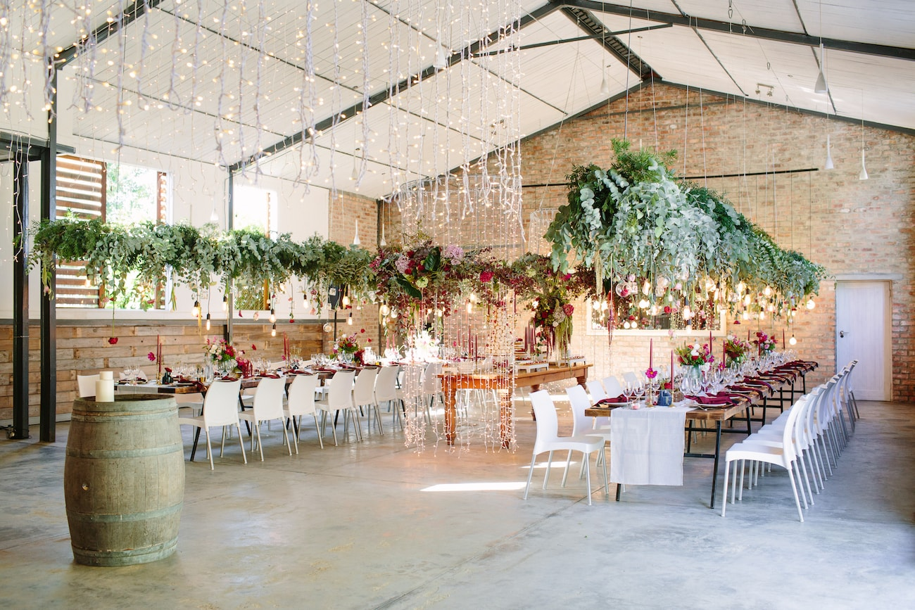 Rockhaven Wedding Reception Decor | Image: Tasha Seccombe
