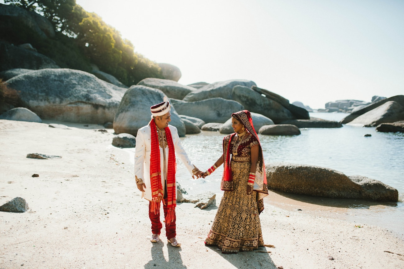 Destination Traditional Hindu Wedding in Cape Town | Image: Claire Thomson