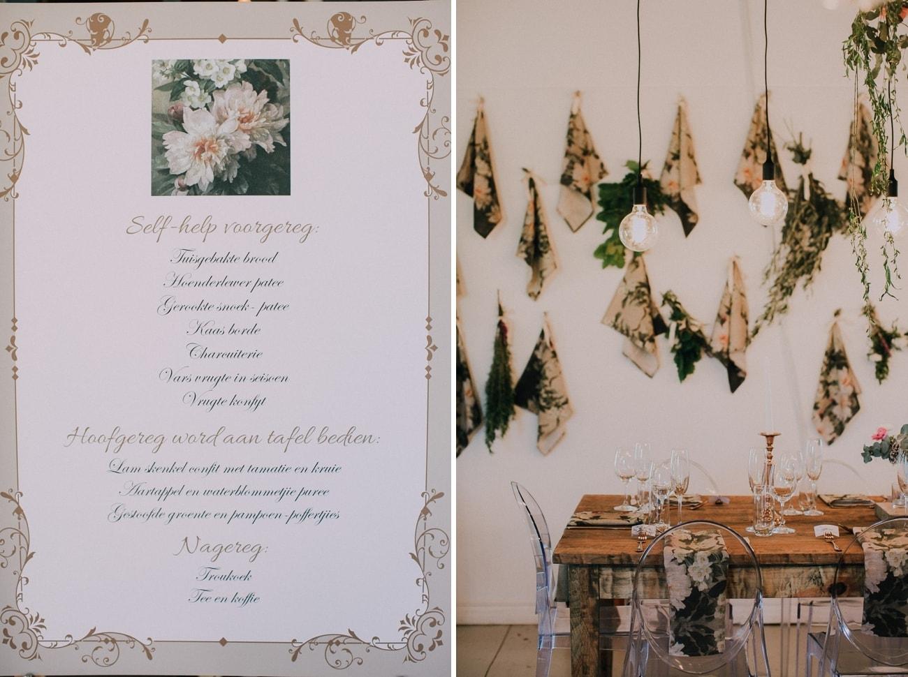 Whimsical Botanical Rustic Wedding | Image: Michelle du Toit