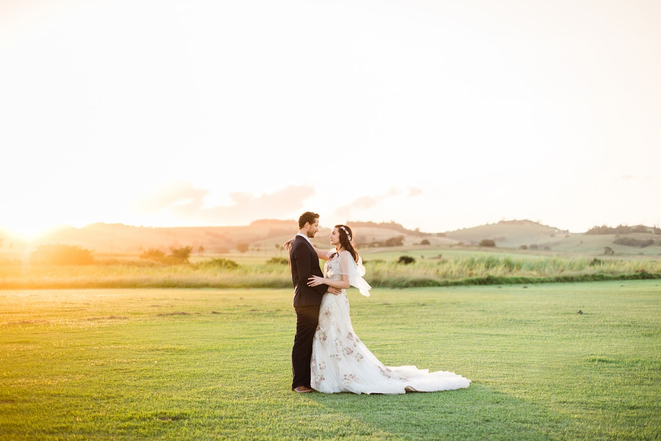 Magical Midsummer Night's Dream Inspired Wedding Golden Hour | Image: Roxanne Davison