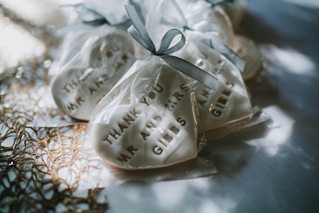 Heart Cookie Favors | Image: Jessica J Photography