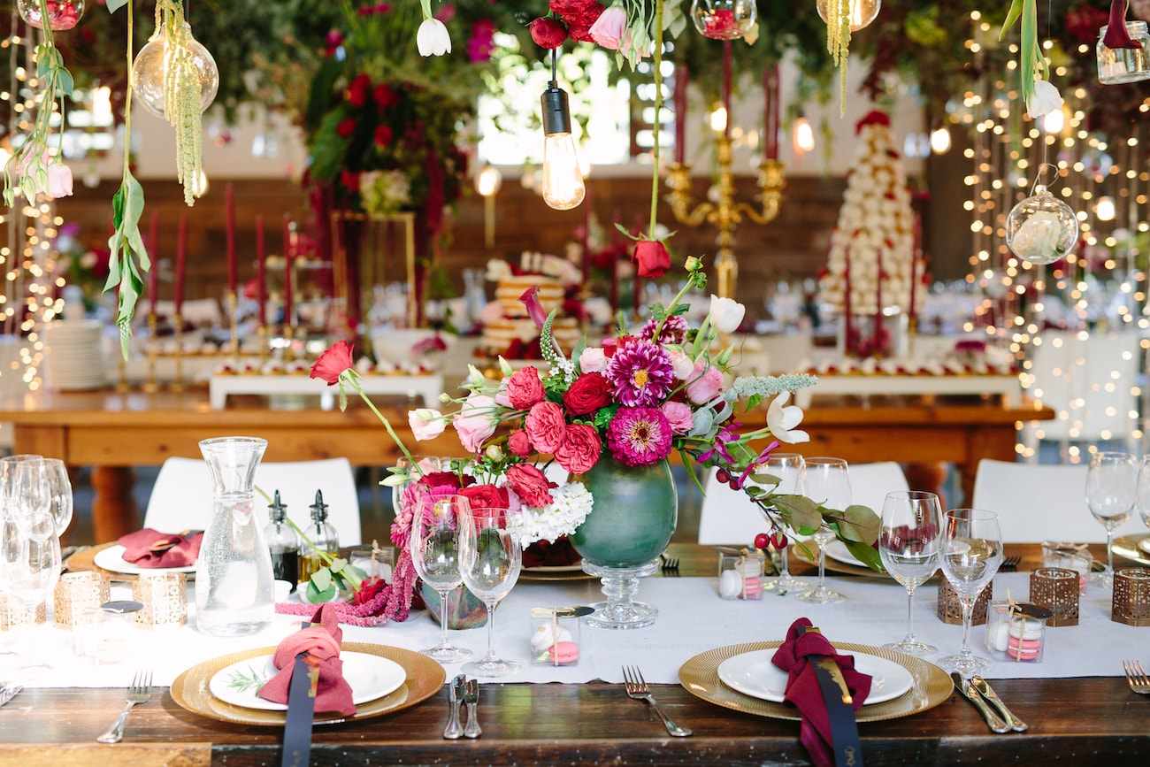 Whimsical Rustic Wedding Decor | Image: Tasha Seccombe