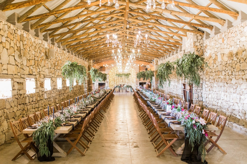 Florence Farm Indoor Reception | Image: Grace Studios