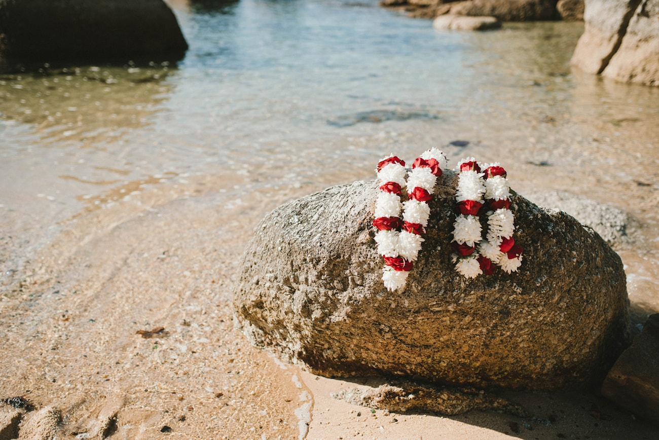 Red & White Jaymala | Image: Claire Thomson