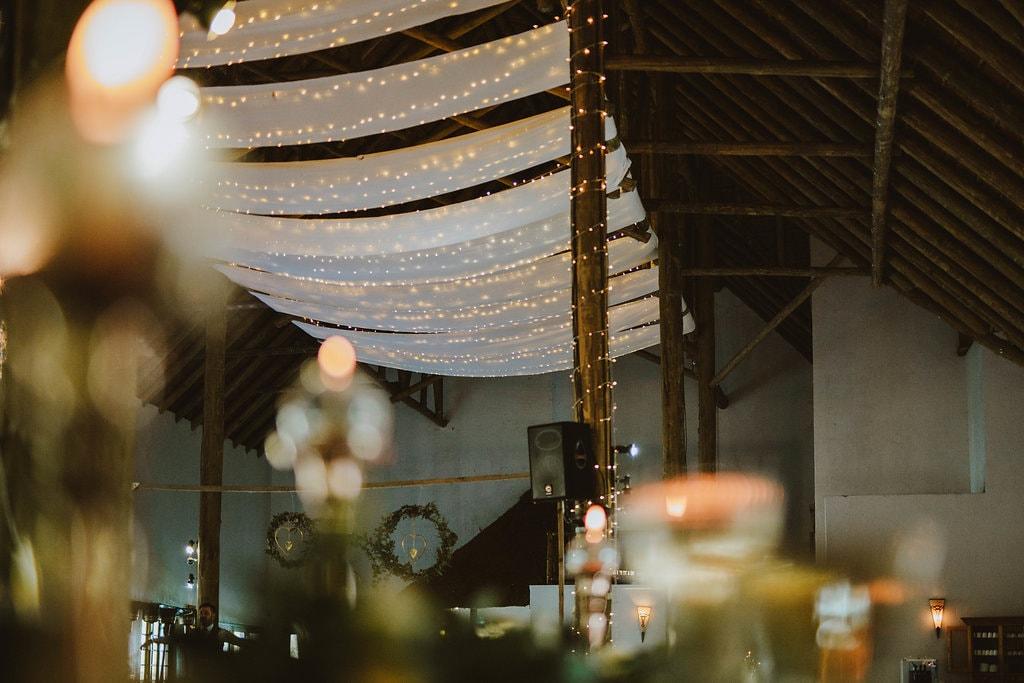 Twinkle Light Canopy | Image: Jessica J Photography