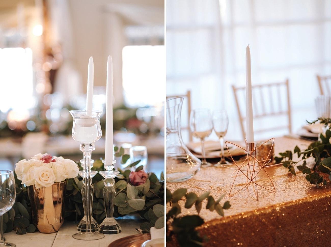 Winter Wedding Reception Decor | Image: The Shank Tank