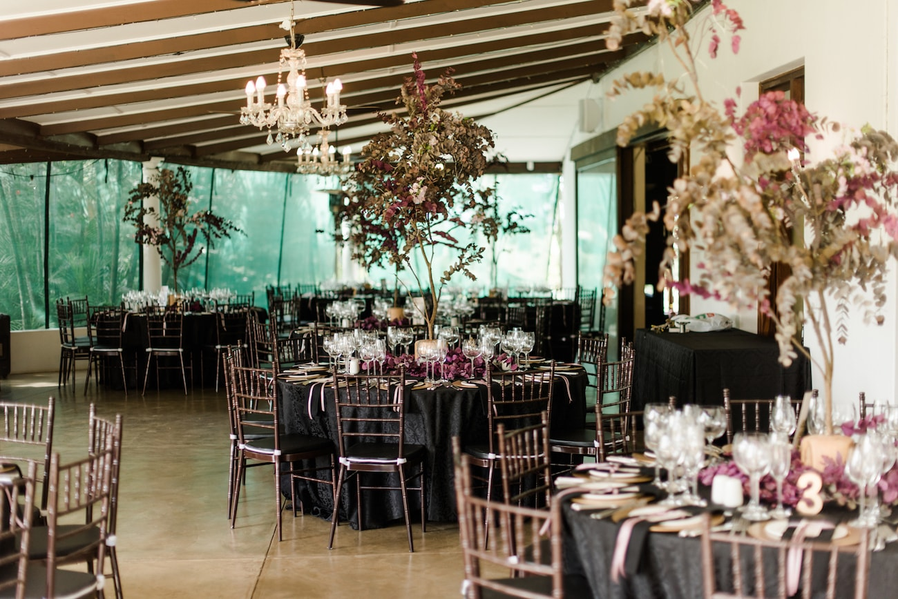 Magical Midsummer Night's Dream Inspired Wedding Reception Decor | Image: Roxanne Davison