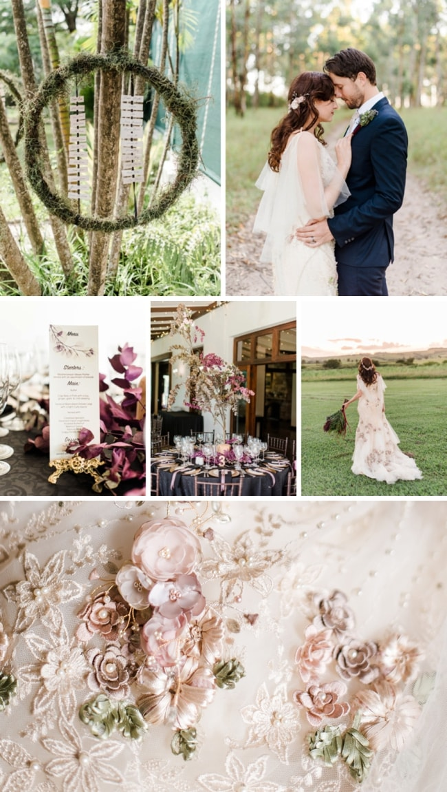 Magical Midsummer Night's Dream Inspired Wedding by Roxanne Davison | SouthBound Bride