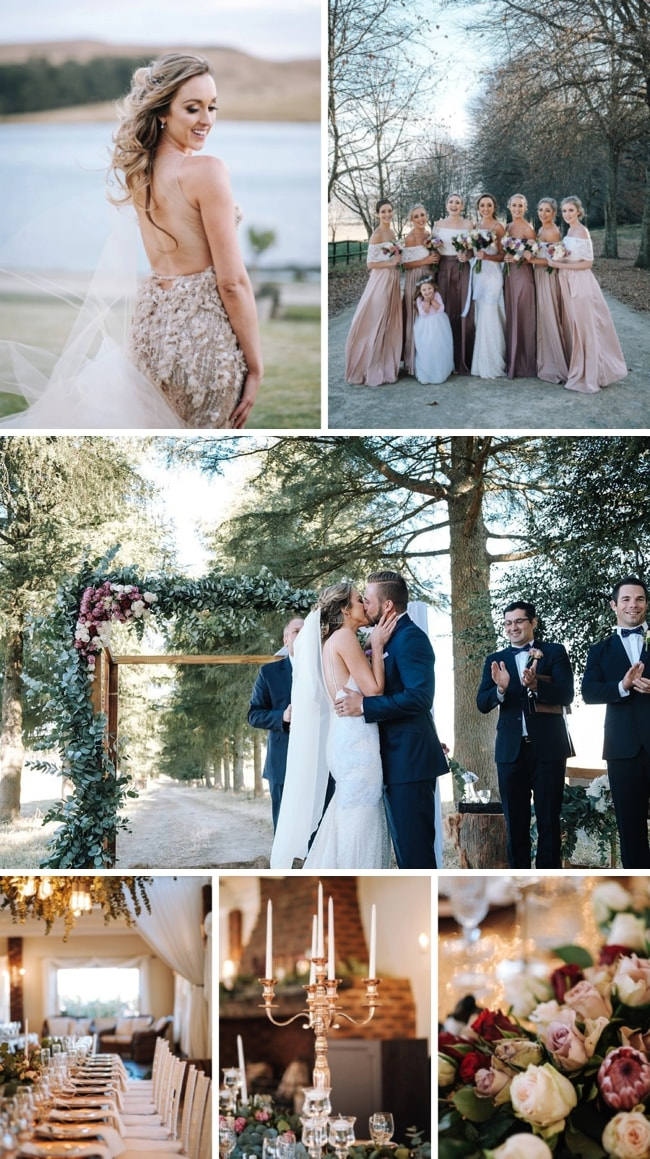 Winter Wedding with Two Gorgeous Gowns by The Shank Tank | SouthBound Bride