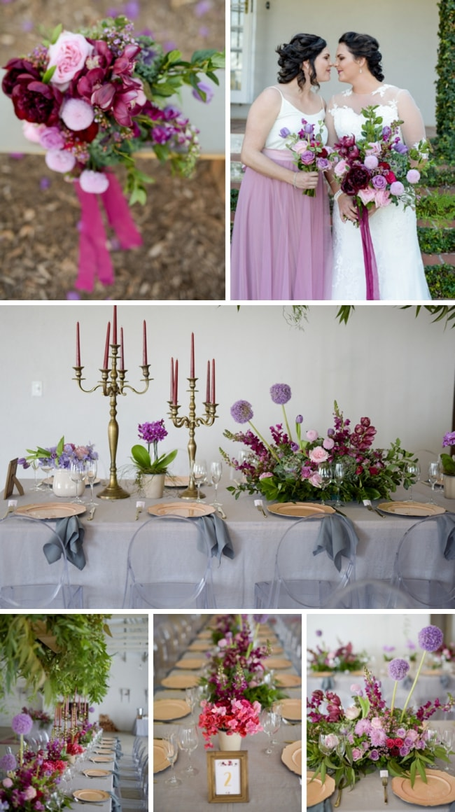 Bright & Berry-toned Wedding by Inecke Photography | SouthBound Bride