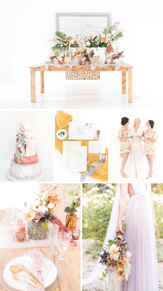 Dreamy Autumn Wedding Inspiration by Cara Faye Weddings | SouthBound Bride