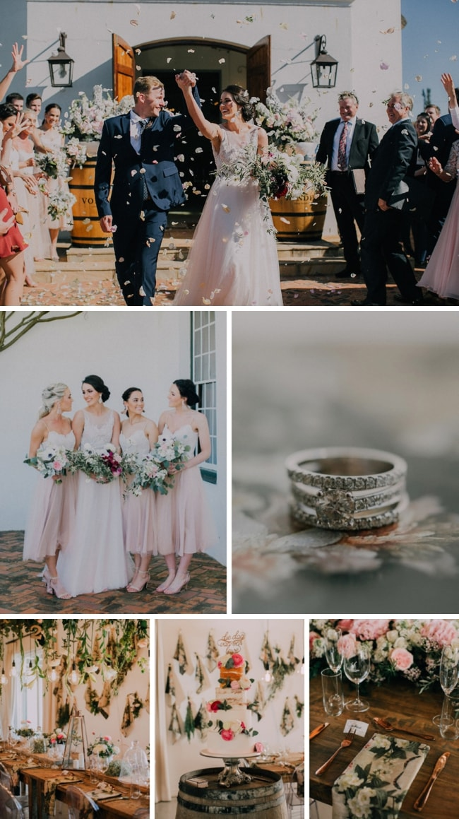 Whimsical Botanical Rustic Wedding by Michelle du Toit | SouthBound Bride