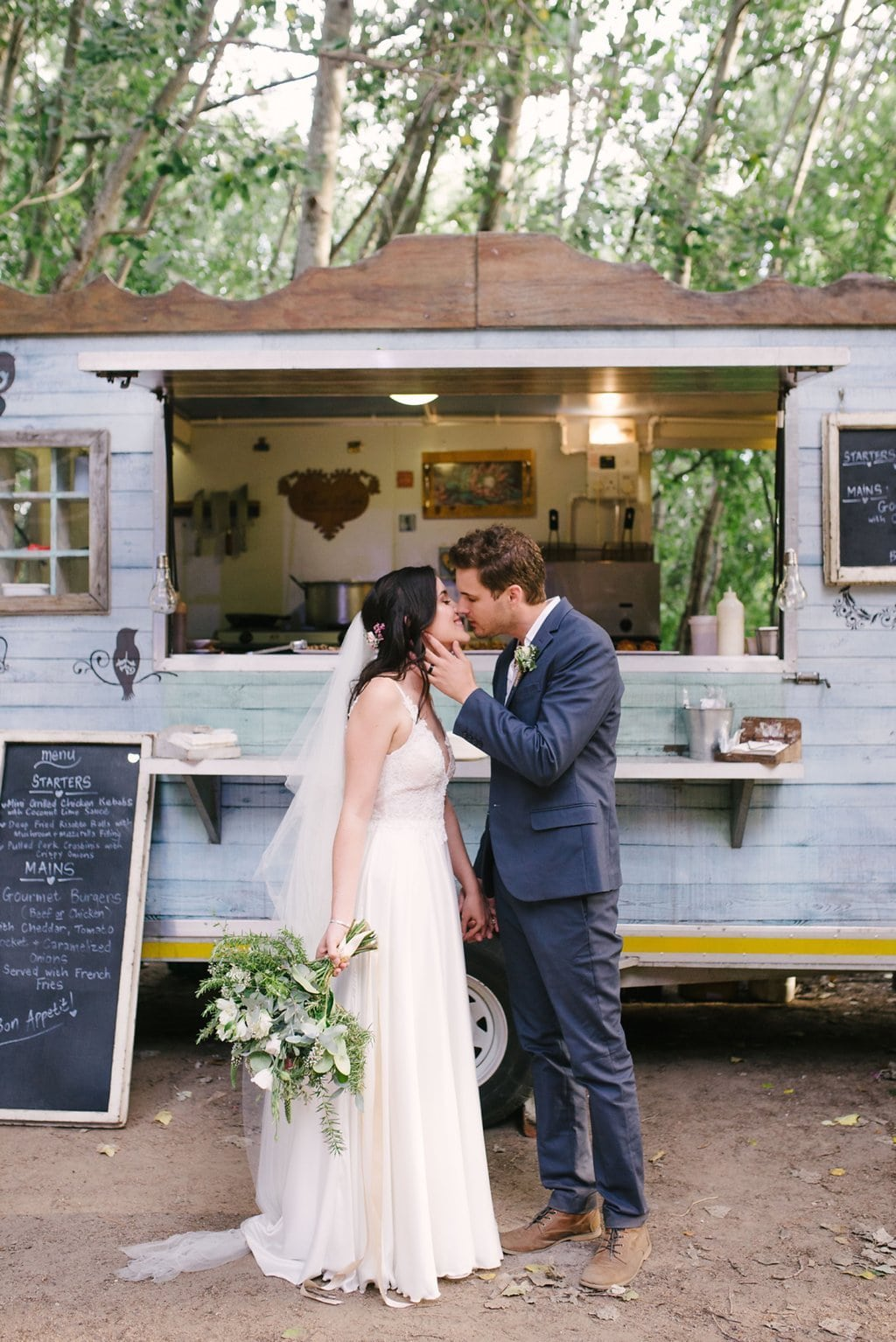 Forest Food Truck Wedding | Image: Cheryl McEwan