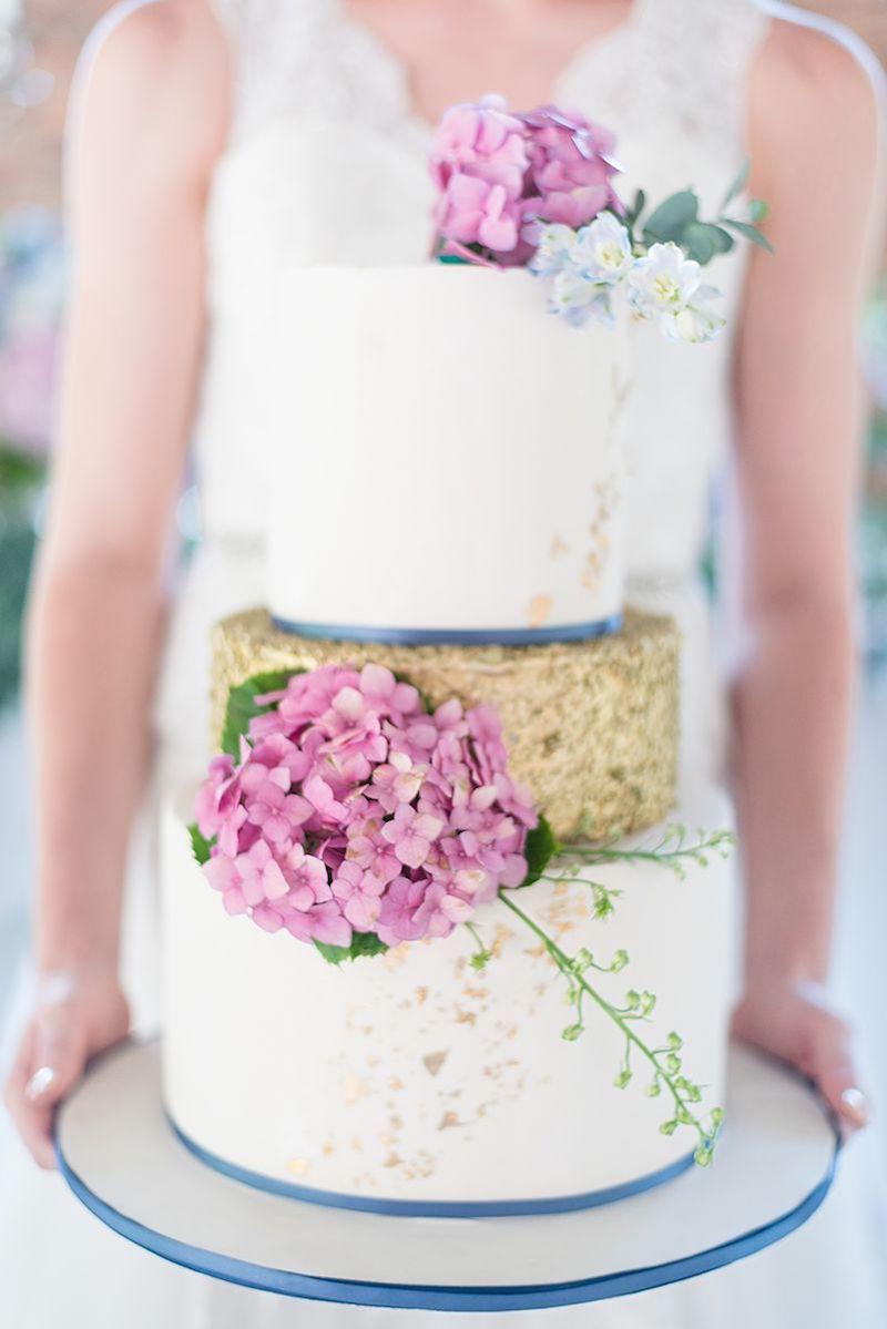 Hydrangea Wedding Cake | Image: Marilize Coetzee